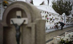Covid-19: DGS recomenda que cemitérios e crematórios funcionem na sua capacidade máxima