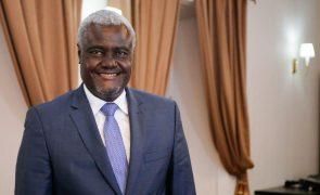 Moussa Faki Mahamat reeleito presidente da Comissão da União Africana