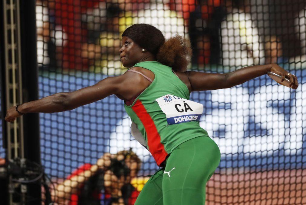 Liliana Cá com recorde pessoal no disco a 62 centímetros dos Jogos Olímpicos