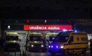 Covid-19: Hospital São João recebe doentes do Garcia de Orta e Amadora/Sintra