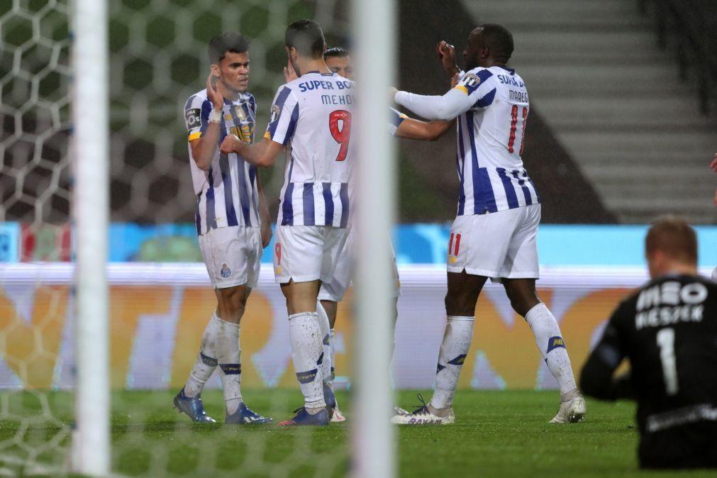 FC Porto e Sporting Braga defrontam-se no jogo grande da 18.ª jornada da I Liga