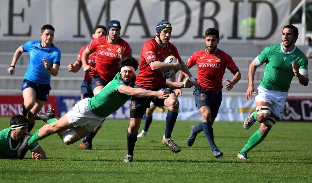 Portugal perde em Madrid e termina Europe Championship de râguebi no quarto lugar