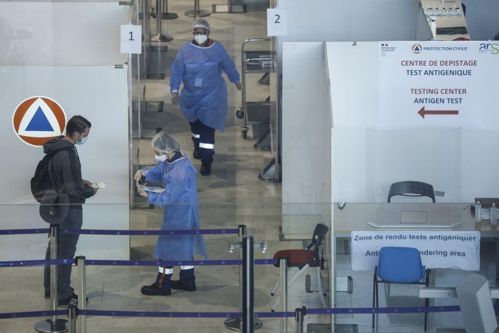 Covid-19: França regista mais de 171 mortos