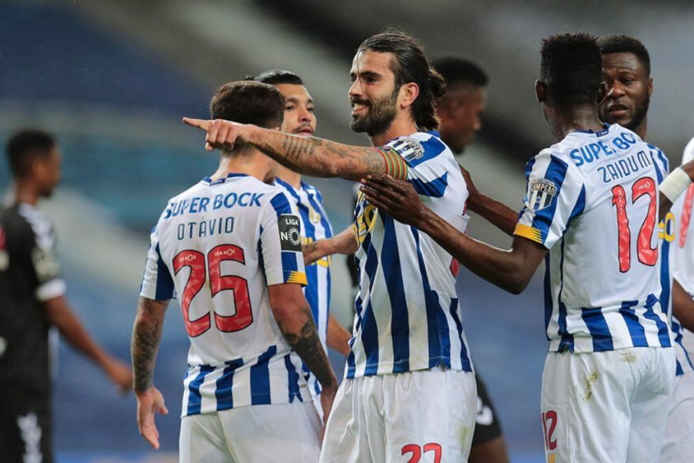 FC Porto deixa empatar-se frente ao Sporting de Braga depois de estar a vencer 0-2 [vídeo]