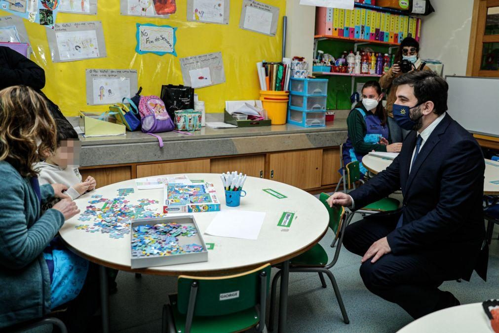 Alunos do 1.º ciclo e pré-escolar deverão ser os primeiros a regressar à escola