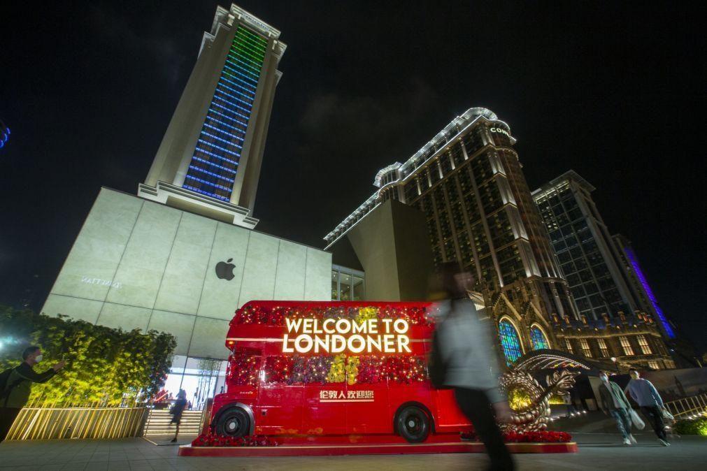 Las Vegas Sands recria Londres em Macau, depois de Veneza e Paris
