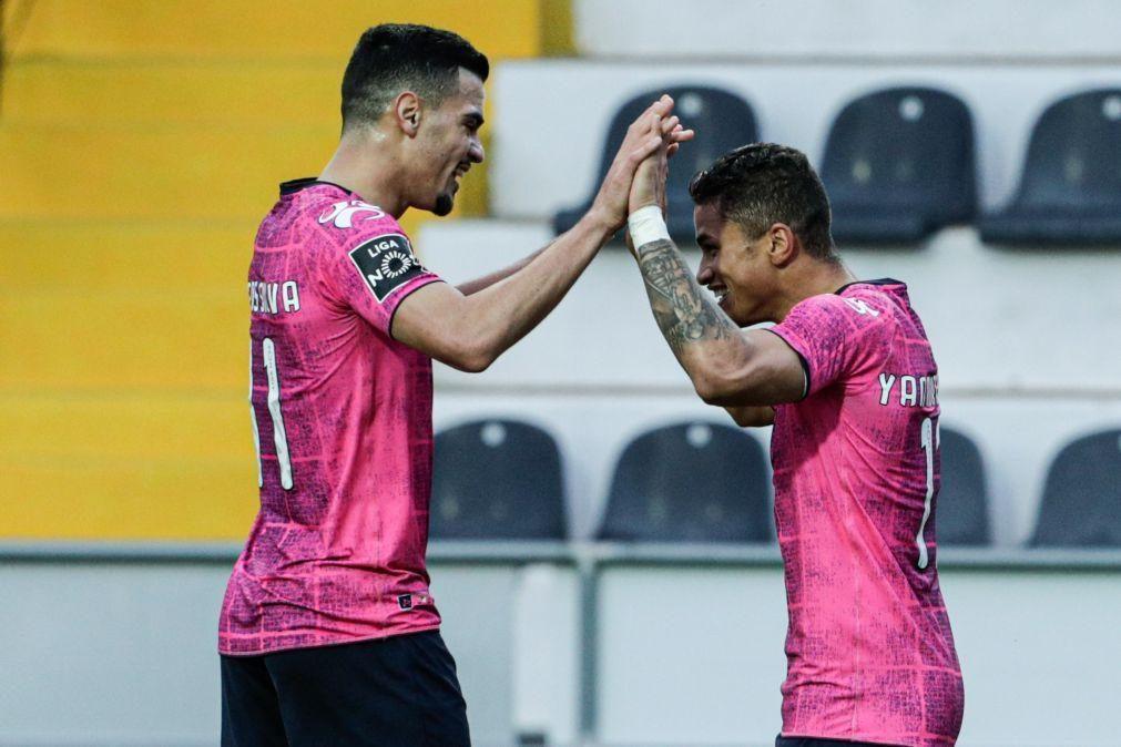 Moreirense vence em Faro e sobe ao sétimo lugar da I Liga