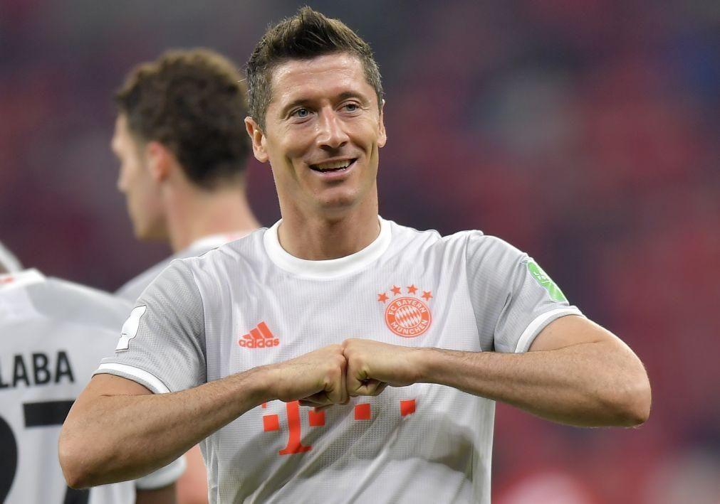 Mundial clubes: Bayern na final ao bater Al-Ahly com 'bis' de Lewandowski