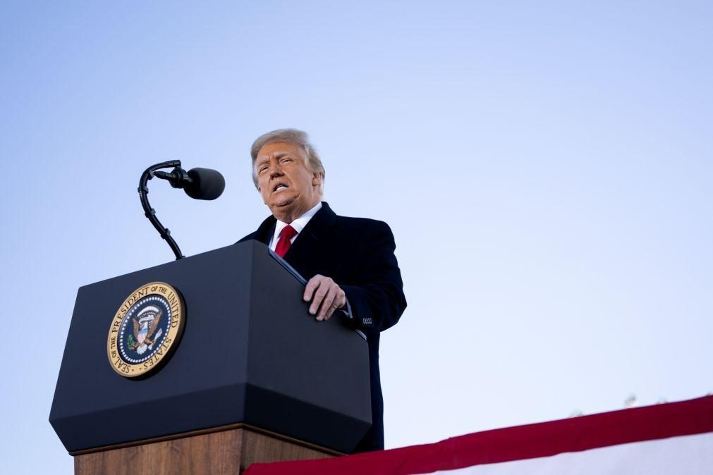 Trump: Senado inicia hoje julgamento político do ex-Presidente