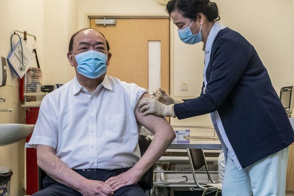 Covid-19: Macau inicia vacinação com principais figuras a darem o mote rumo à imunização