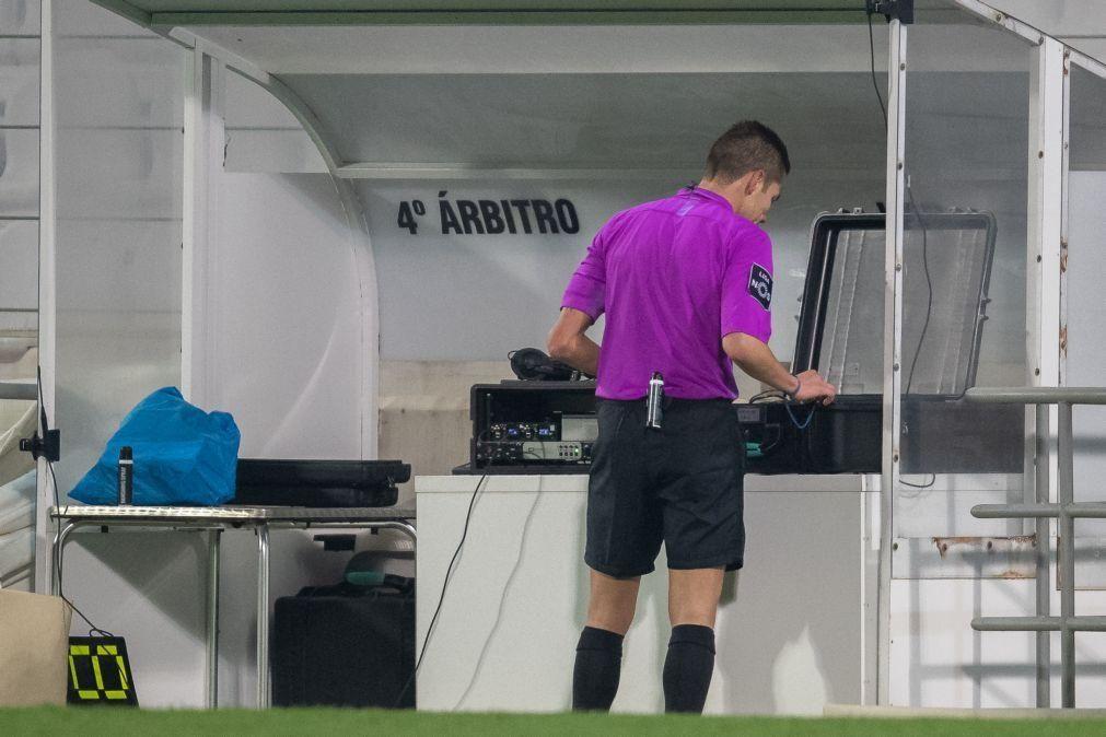 Sporting de Braga critica VAR e exige igual número de câmaras em todos os jogos
