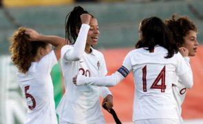Seleção feminina de futebol entra hoje em estágio no Algarve a pensar no Europeu