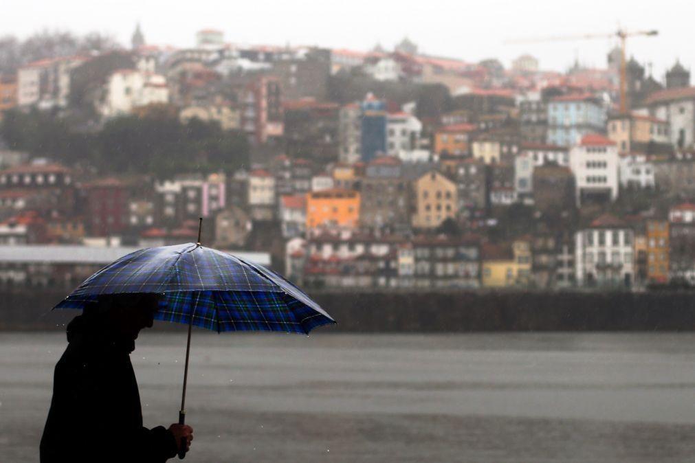 Alerta laranja para cheias no Douro e Porto à espera de aumento do caudal