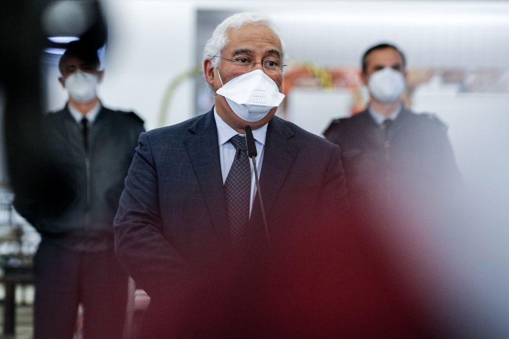 António Costa afirma que é necessário prolongar atual confinamento e aumentar testagem massiva