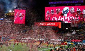 Super Bowl com menor audiência televisiva desde 2007, apesar da pandemia