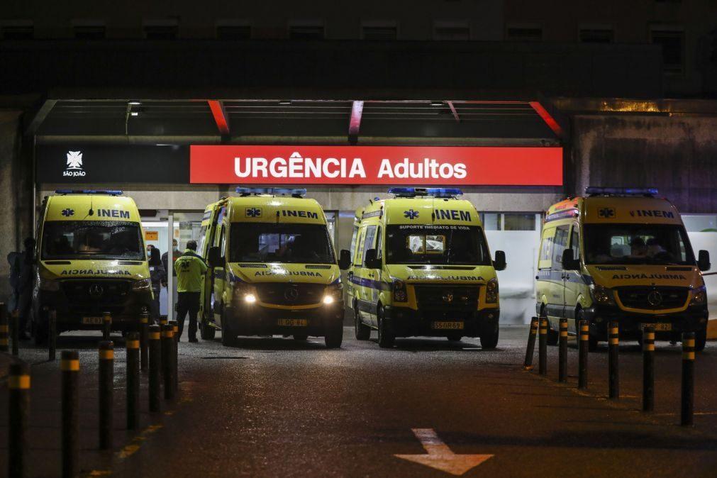 Covid-19: Transferências para o Hospital São João diminuíram