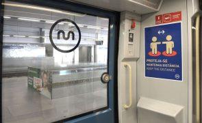 Covid-19: Metro do Porto com menos 40% de clientes após confinamento