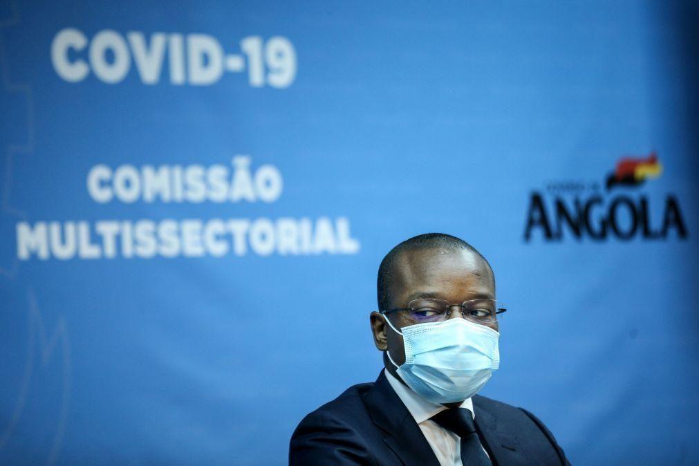 Covid-19: Isolamento institucional em Angola para infetados oriundos de países com novas variantes