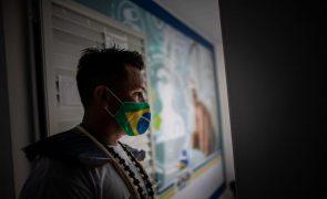 Covid-19: Brasil aproxima-se de 9,6 milhões de casos após 51.486 infeções em 24 horas