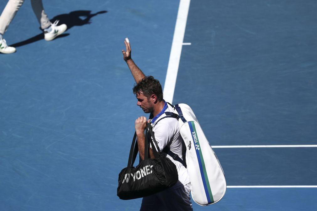 Wawrinka derrotado por Martin Fucsovics na segunda ronda do Open da Austrália