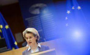 Covid-19: Von der Leyen considera que UE foi demasiado otimista sobre produção de vacinas