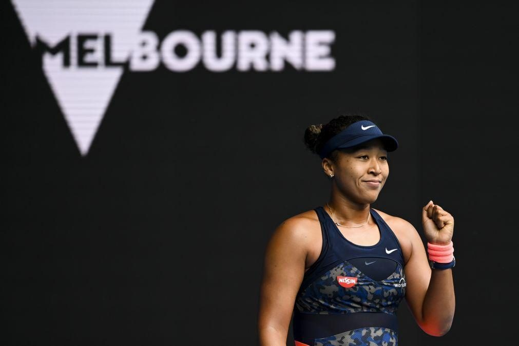 Osaka confirma favoritismo e está na terceira ronda do Open da Austrália