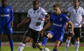 Belenenses SAD e Vitória de Guimarães empatam a uma bola no Jamor