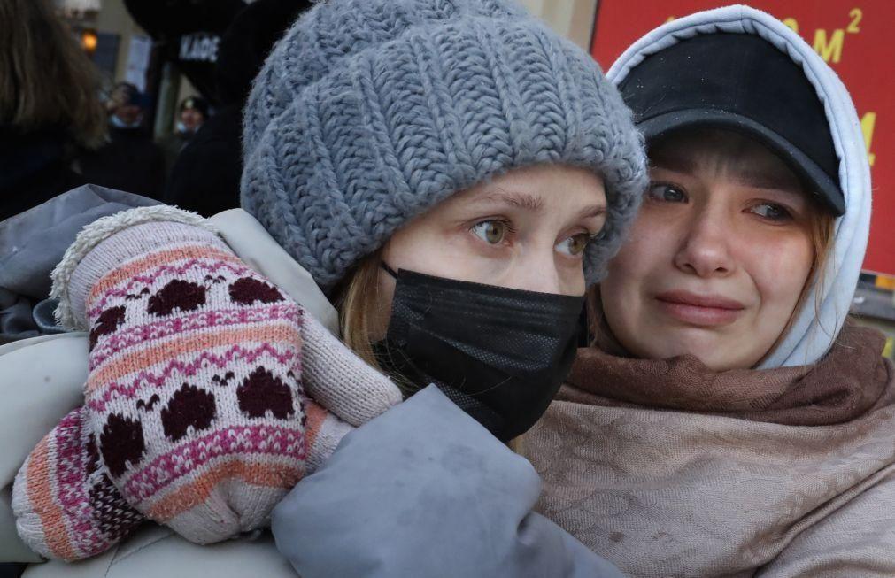Covid-19: Rússia ultrapassa os quatro milhões de infetados