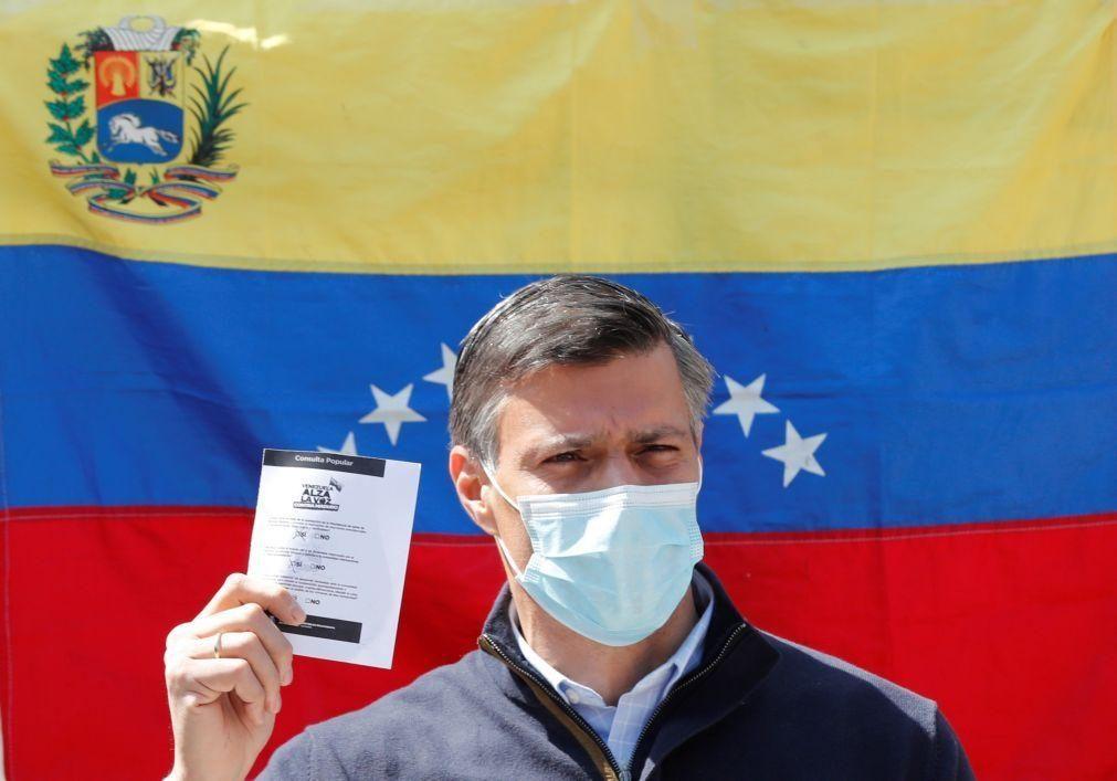 Opositor venezuelano pede sanções simultâneas dos EUA e UE
