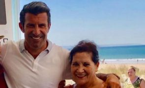 Luís Figo tem a mãe internada em estado vegetativo