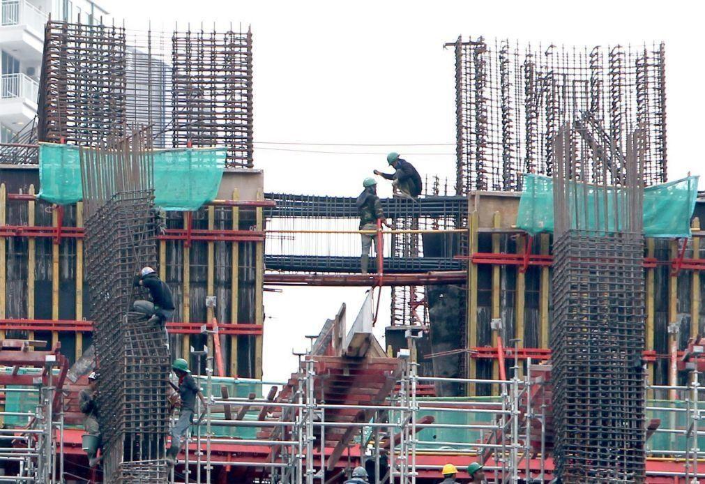 Produção na construção termina 2020 com queda de 3,5%