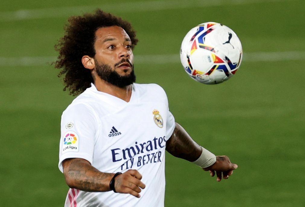 Marcelo tem lesão muscular e aumenta lista de indisponíveis no Real Madrid