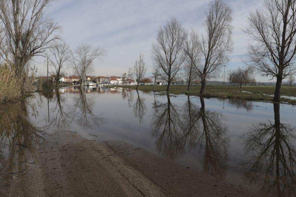 Caudal do rio Mondego atingiu os mil metros cúbicos em Coimbra na última noite