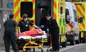 Covid-19: Reino Unido regista 1.001 mortes e totaliza agora quase 115 mil