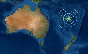 Austrália e Nova Zelândia confirmam risco de tsunamis após sismos