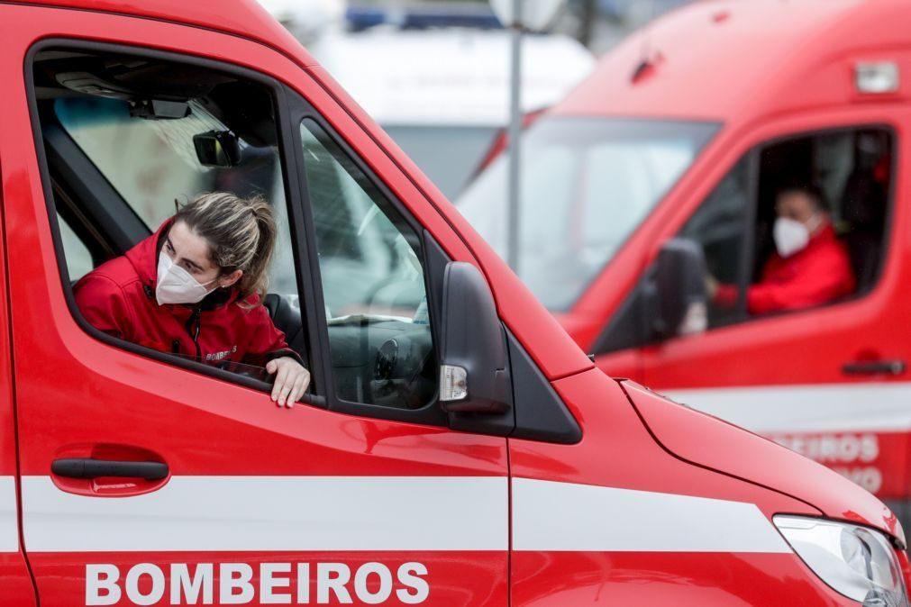 Covid-19: Cerca de 15 mil bombeiros começam a ser vacinados quinta-feira