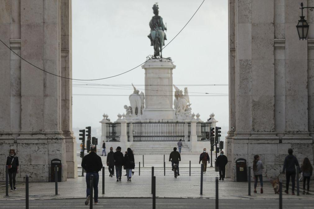 Covid-19: Lisboa e Vale do Tejo em linha com o país na transmissibilidade do vírus