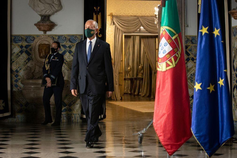 Covid-19: Marcelo propõe estado de emergência até 1 de março