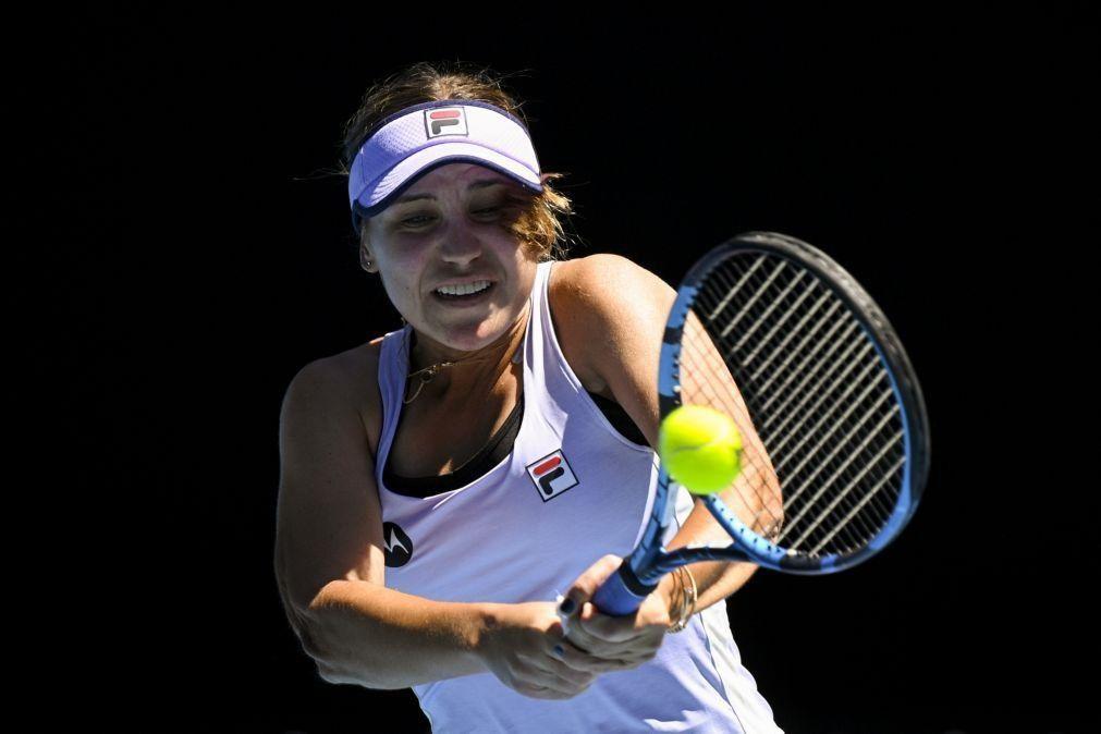 Open da Austrália: Vencedora do torneio em 2020 eliminada pela 65.ª do mundo