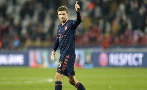 Thomas Müller falha final do Mundial clubes depois de testar positivo à covid-19