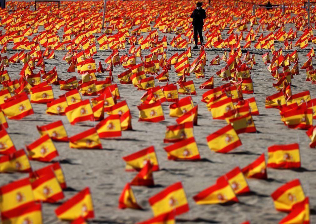 Covid-19: Espanha regista 17.853 novos casos e 513 mortes nas últimas 24 horas