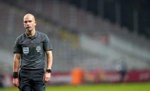 Secretário de Estado considera inadmissíveis ameaças ao árbitro Luís Godinho