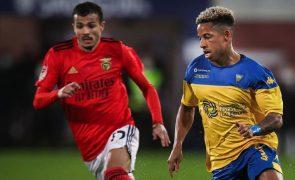 Benfica vence Estoril na Amoreira para a Taça de Portugal [vídeos]