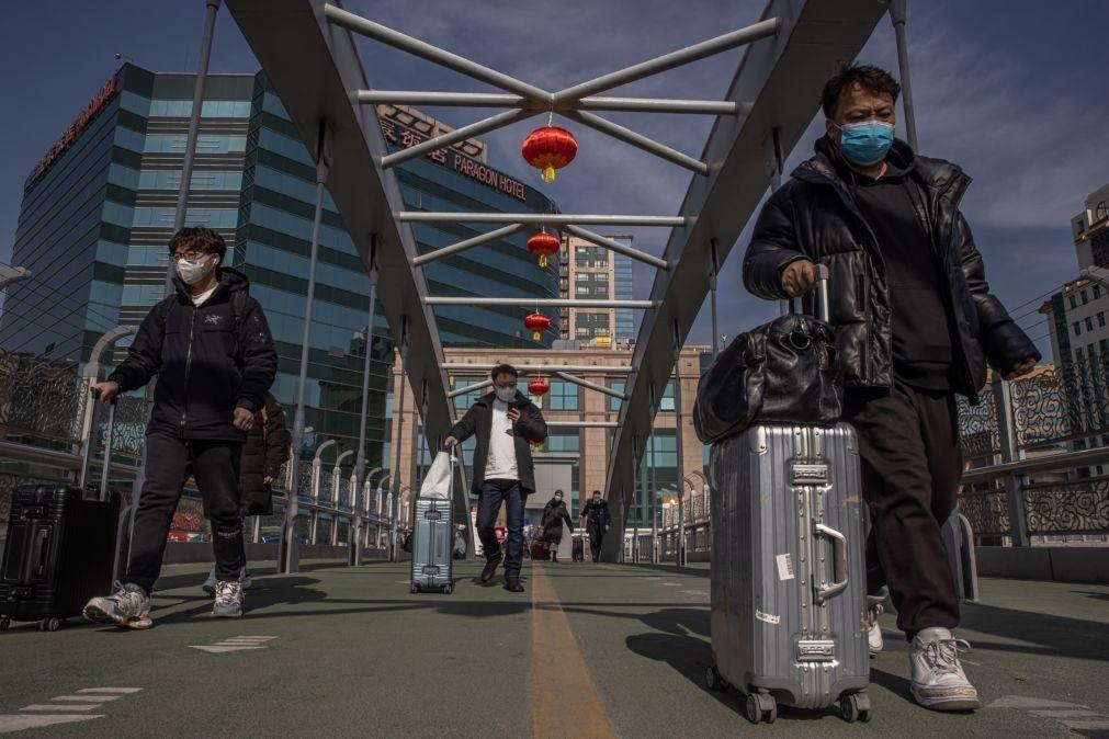 Covid-19: China deteta 12 novos casos, todos importados