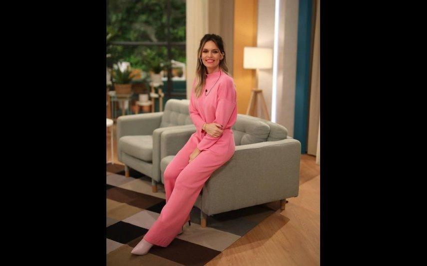 Diana Chaves Quer um conjunto cor de rosa igual ao da apresentadora? Custa menos de 60 euros!