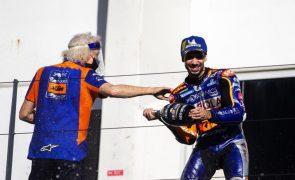 Miguel Oliveira espera «fazer melhor do que em 2020» no Mundial de MotoGP