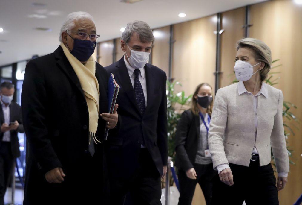 António Costa espera aprovação dos planos de recuperação até abril
