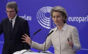 Von der Leyen saúda Portugal por concluir mecanismo de recuperação