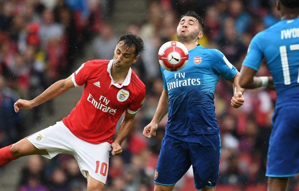 Covid-19: Jogo da segunda mão entre Arsenal e Benfica será em Atenas