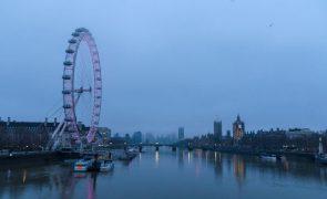 Covid-19: PIB do Reino Unido com queda histórica de 9,9% em 2020